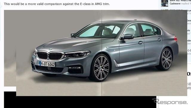 新型BMW 5シリーズセダンの画像をリークした『germancarforum』