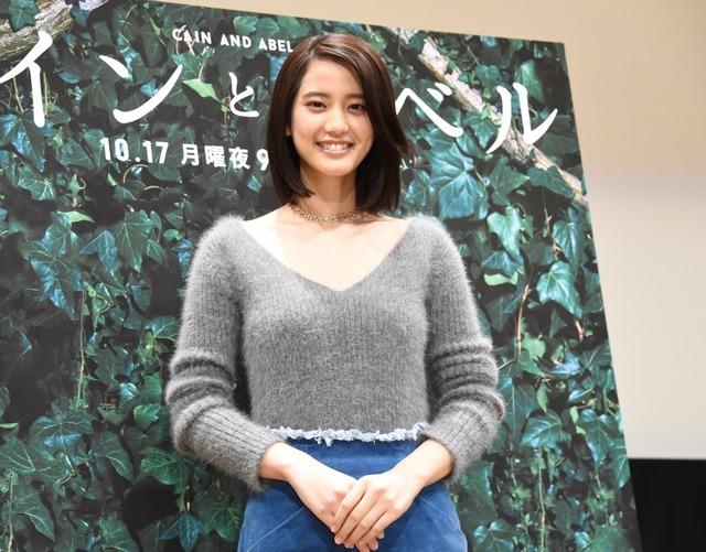 山崎紘菜/月9ドラマ「カインとアベル」の先行プレミア試写会