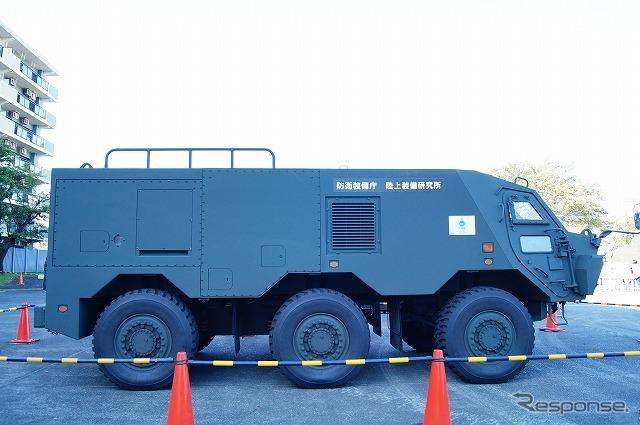 車両はオリジナルというわけではなく、2013年から配備の始まった「NBC偵察車」をベースとしている。
