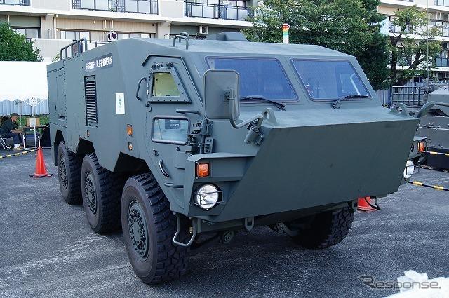 装甲そのものはNBC偵察車よりも軽いものとなっている。