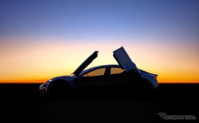 ヘンリック・フィスカー氏のフィスカーIncが開発中の新型EVの予告イメージ