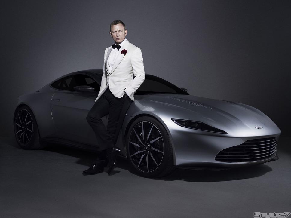 2015年「スペクター」ジェームズ・ボンドのために作られたスペシャルモデル「アストンマーティン DB10」は10台限定だ。「V8ヴァンテージ」をベースに誕生した。