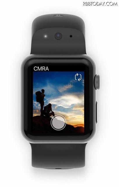 Apple Watchで写真も動画もOK! バンドにカメラとマイクを内蔵した「CMRA for Apple Watch」