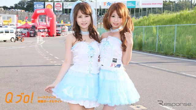 鈴鹿8時間耐久ロードレース2016『Honda DREAM W gal's』