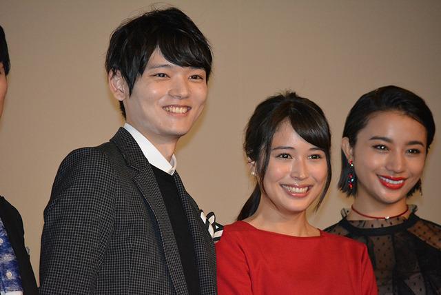 古川雄輝、広瀬アリス『L-エル-』完成披露上映会