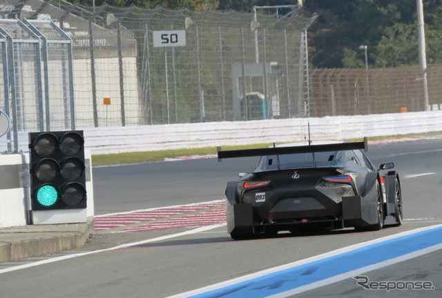 レクサスの来季型GT500マシン「LC500」