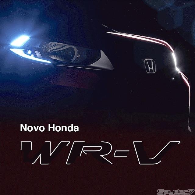 予告第二弾!ホンダ新型クロスオーバーSUV「WR-V」の表情見えた