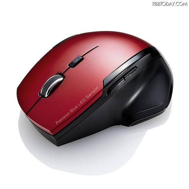 ワイヤレスブルーLEDマウス 型番:400-MA071シリーズ