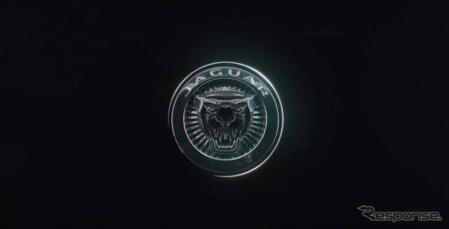 ジャガーの新型車の予告イメージ