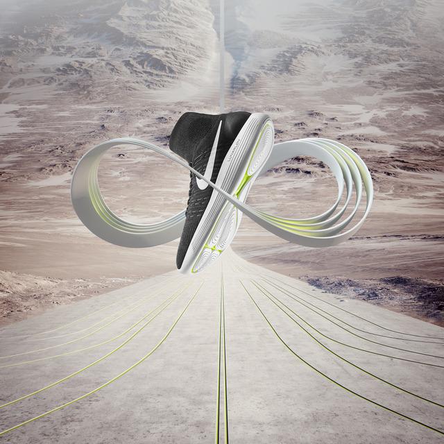 ナイキ、「ルナエピック フライニット」にローカットモデルが登場