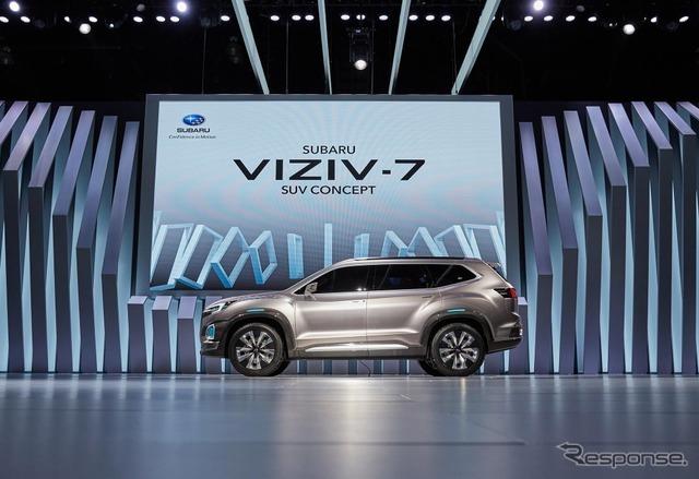 スバル VIZIV-7 SUVコンセプト(ロサンゼルスモーターショー16)