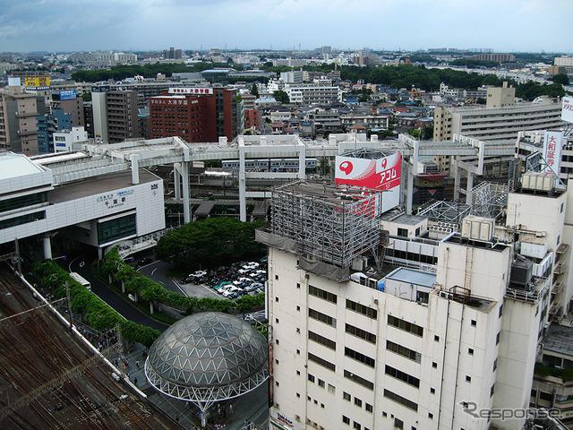 千葉駅(2013年)