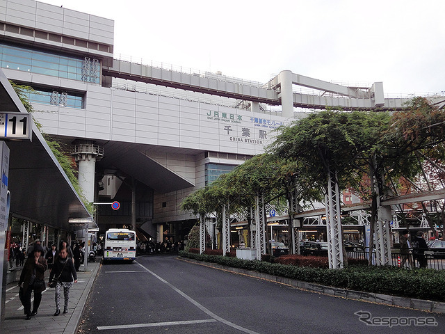 千葉駅(2016年11月)