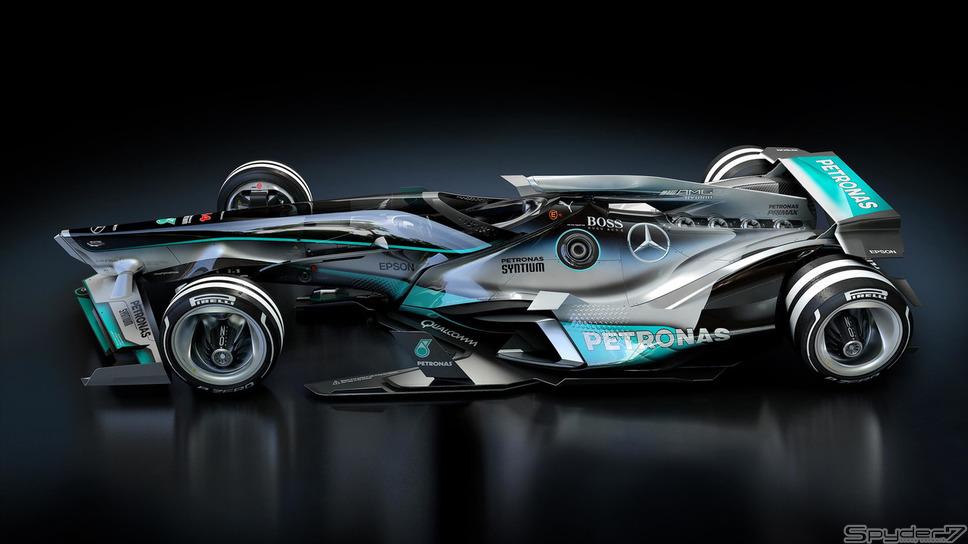 2030 メルセデス F1