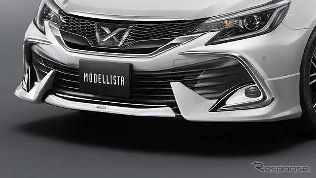 モデリスタのトヨタマークX 改良新型用パーツ