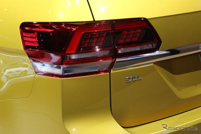 VW アトラス(ロサンゼルスモーターショー16)