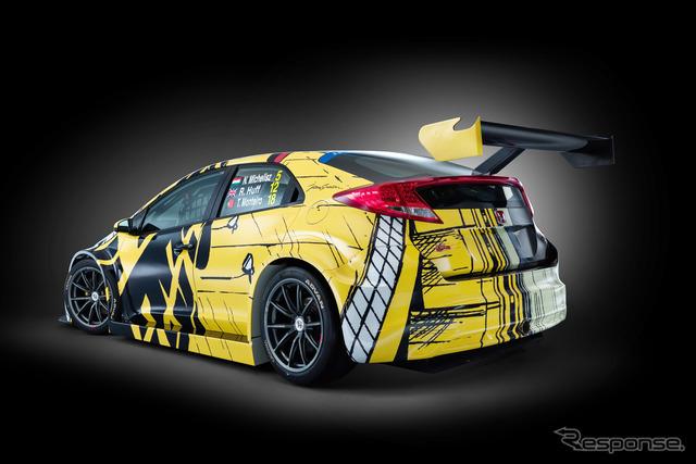 ホンダ シビック WTCC アートカー