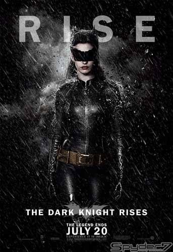 2012年「ダークナイト ライジング」。クリスチャン・ベール3連続主演となった。