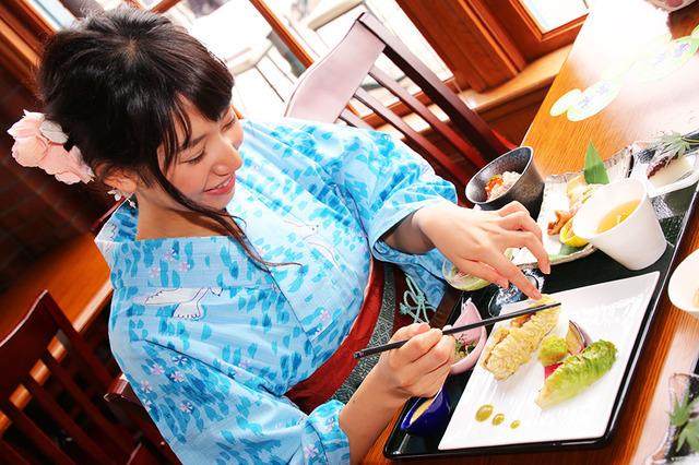 スペシャルセット「レストラン櫻」(モデル:那海)