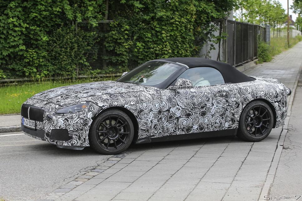 トヨタ BMW Z5 スクープ写真