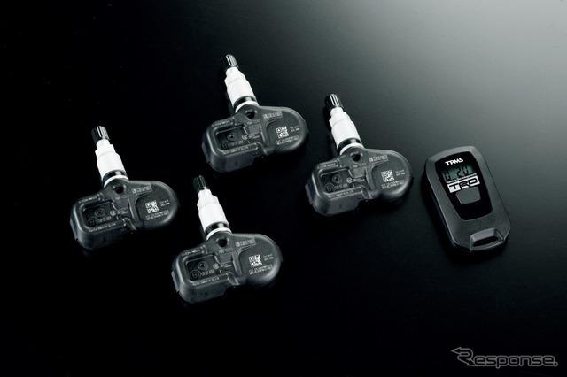 タイヤ空気圧・温度デジタルゲージ