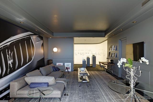 モナコの5つ星ホテル「オテル・ド・パリ・モンテカルロ」に期間限定で開設されたマセラティのスイートルーム