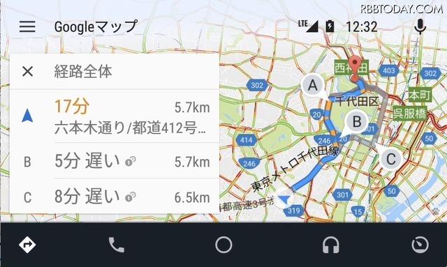 車載システム「Android Auto」がついに日本上陸!スマホ操作が対応ナビで可能に