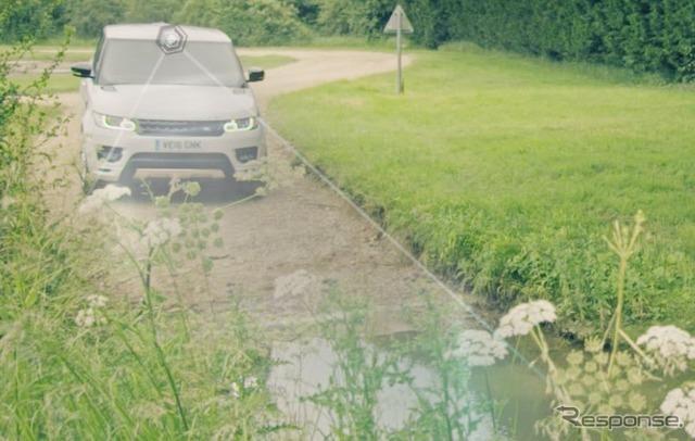 ジャガー ランドローバーのオフロード自動運転技術