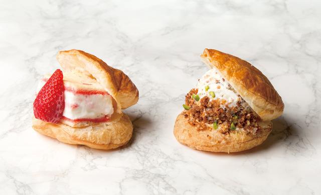左:「ストロベリーショートケーキ」 右:「チーズケーキレモン」