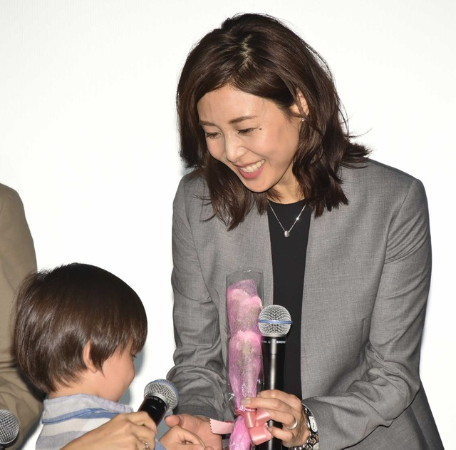松嶋菜々子、原田泰造からのお姫様抱っこに「ビックリ」