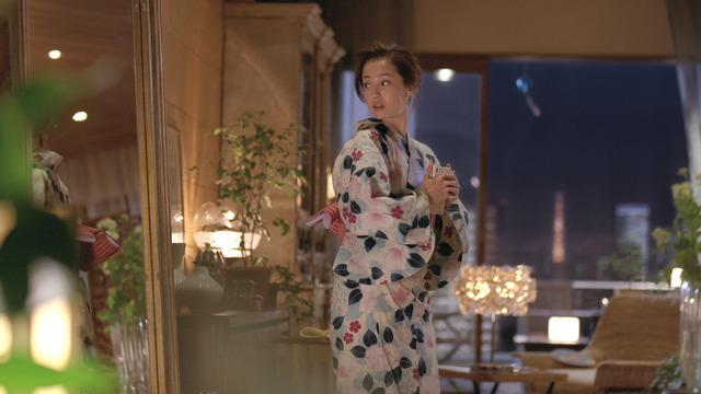 沢尻エリカが浴衣姿を披露!「ほろよい」新テレビCMオンエア