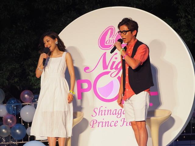 CanCam×Shinagawa Prince Hotel Night Poolオープニングセレモニー(2016年7月14日)