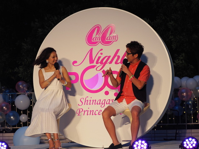 CanCam×Shinagawa Prince Hotel Night Poolオープニングセレモニー(2016年7月14日)
