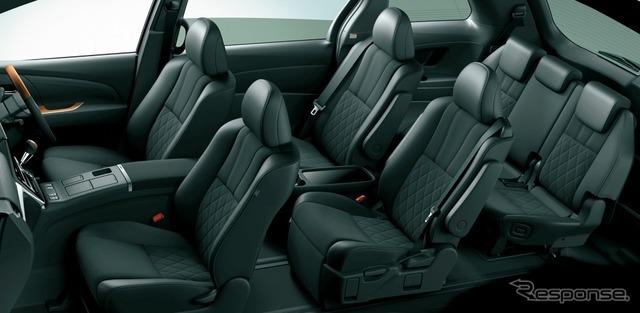 トヨタ エスティマ ハイブリッド AERAS PREMIUM-G(E-Four・7人乗り・内装色ブラック/シート色ブラック)