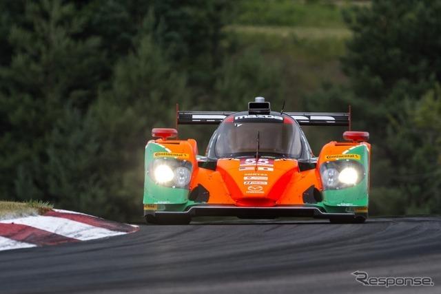 マツダのプロトタイプレーシングカー