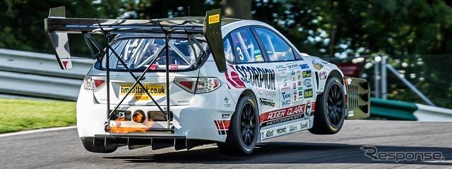 スバル インプレッサ WRX STIの780馬力フルチューンレーシングカー