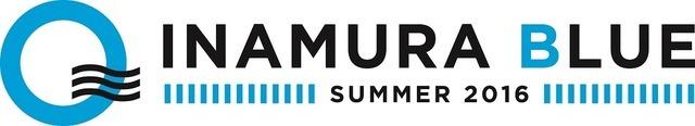 ビーチハウス「IMAMURA BLUE 2016」ロゴ