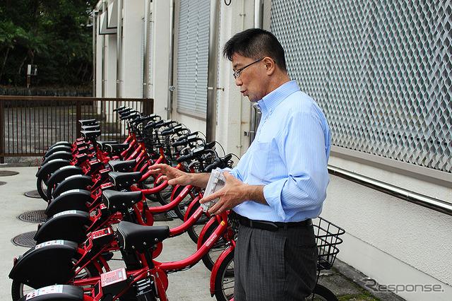 ドコモ・バイクシェア 坪谷寿一社長(八丈島 サイクルシェアリング)