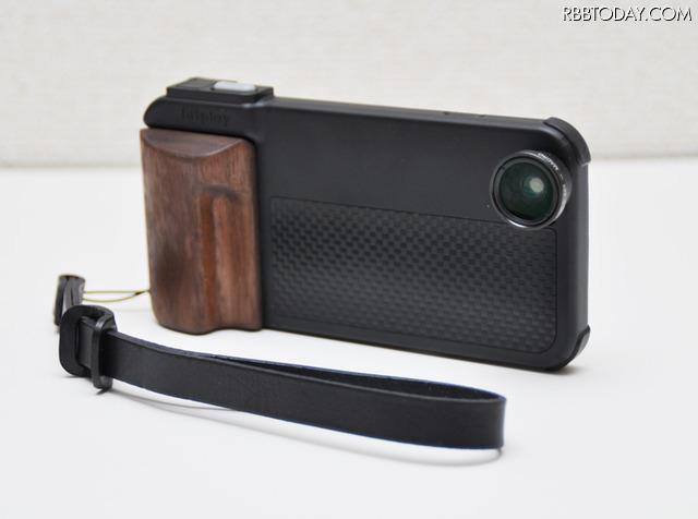 iPhone 6s/6のカメラ機能を強化するアクセサリー「SNAP!PRO」