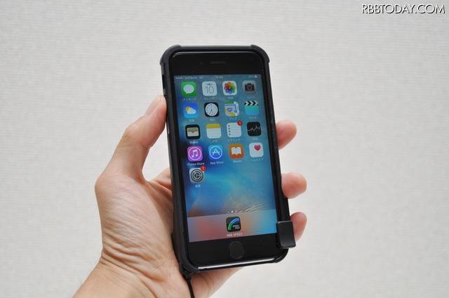 iPhoneの使い心地にはまったく変わりが無く、撮影した写真を手軽にSNSなどに公開できる