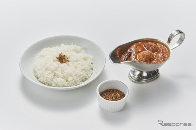 6 食べるスパイスカレー(ドンピエール東京エクスプレスカレー)