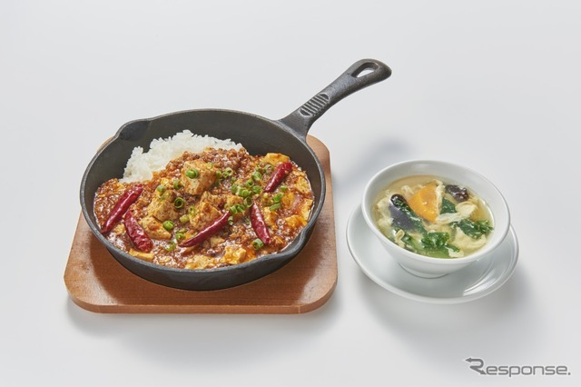 12 鉄鍋激辛麻婆豆腐丼(中国老舗 天津飯店)
