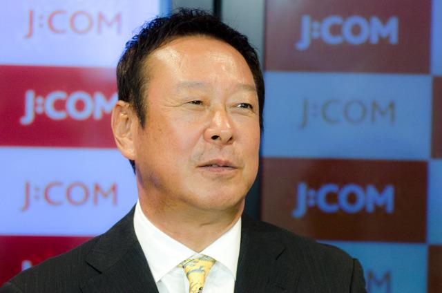 J:COMテレビのリオデジャネイロ五輪放送でコメンテーターを務める森末慎二(2016年7月21日)