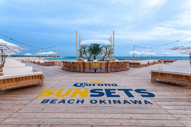 沖縄屈指のビーチスポット「美らSUNビーチ」に、コロナビールがプロデュースするリゾートラウンジ出現!