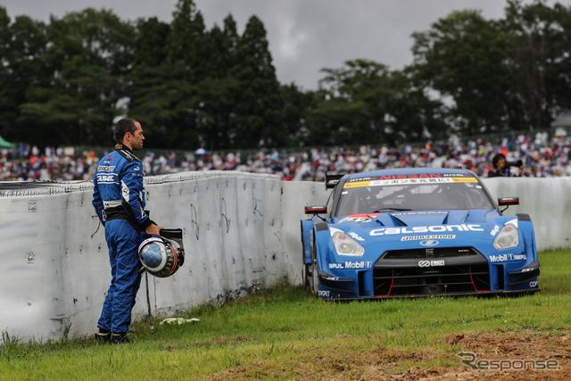 #12 GT-Rにとっては流れのよくない週末。最終結果もリタイア。