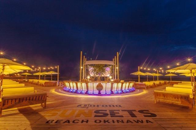「CORONA SUNSETS BEACH OKINAWA」