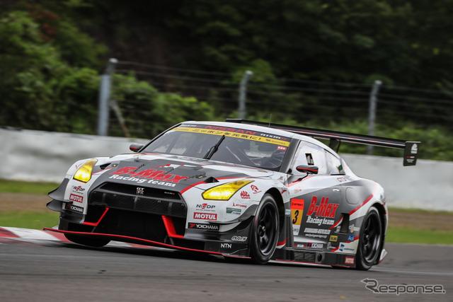 決勝5位の#3 GT-R。