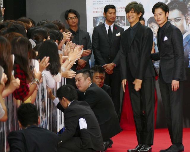 松坂桃李&岡田将生/『秘密 THE TOP SECRET』レッドカーペットセレモニー