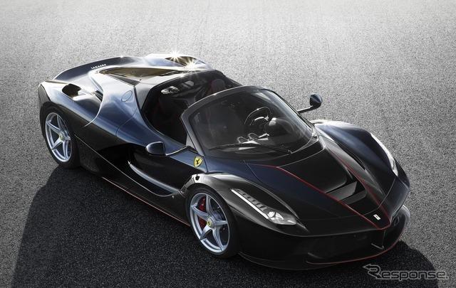 ラ・フェラーリのオープン版