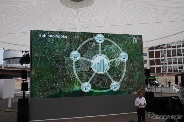 都市間をつなぐ短距離輸送に対応する